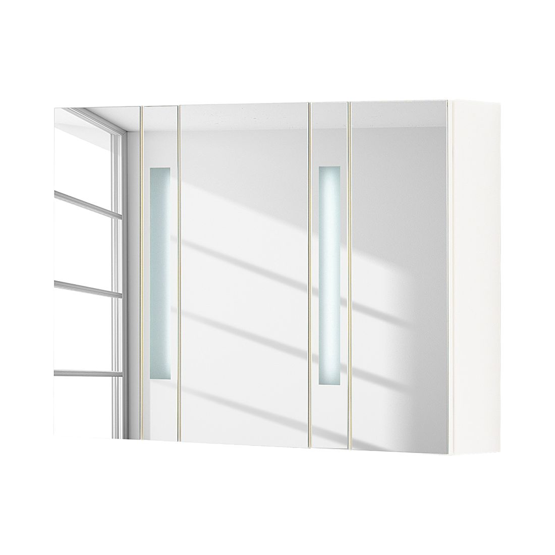 Spiegelschrank Arte 7 - Weiß, Fackelmann