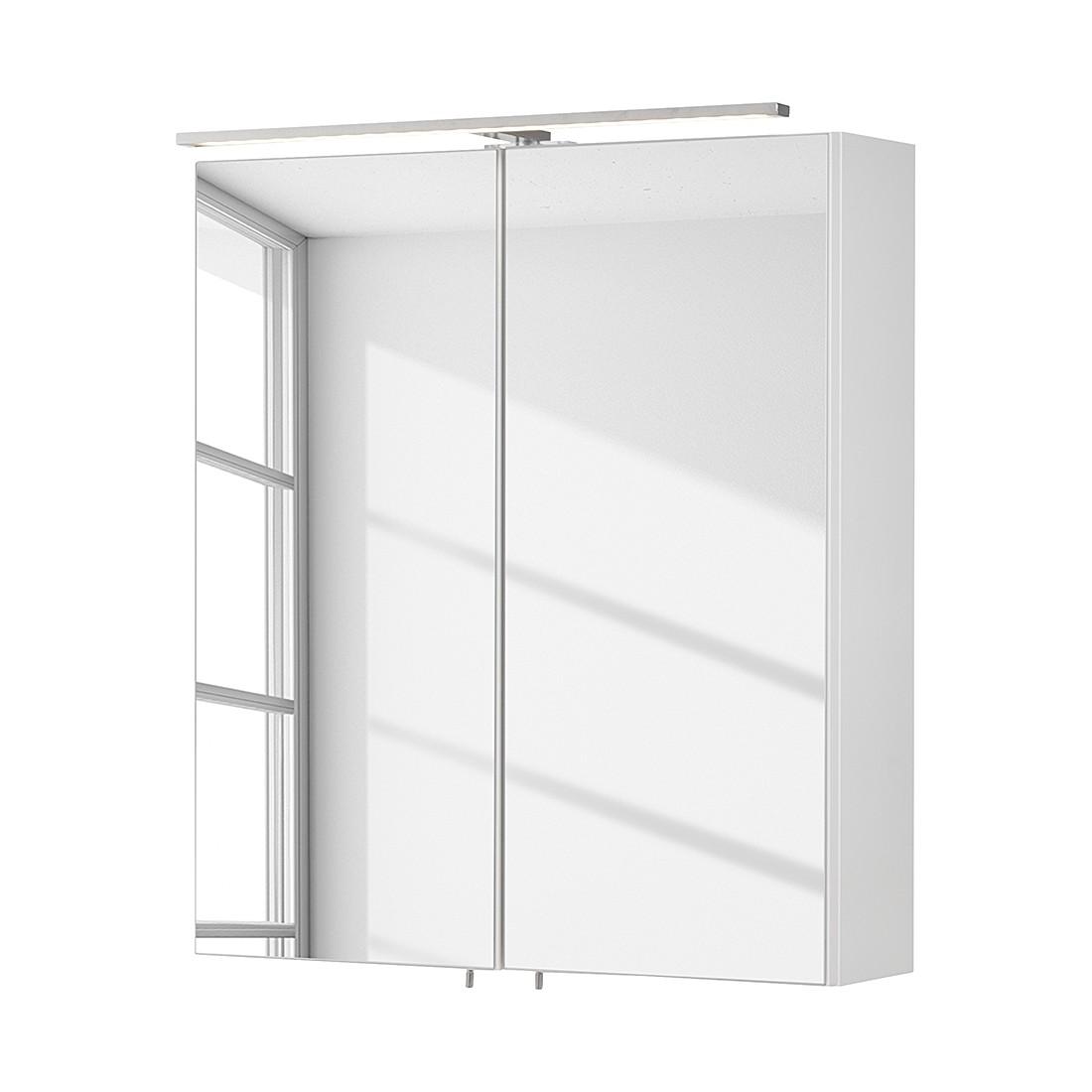Spiegelschrank Como - Weiß - 60 cm, Fackelmann