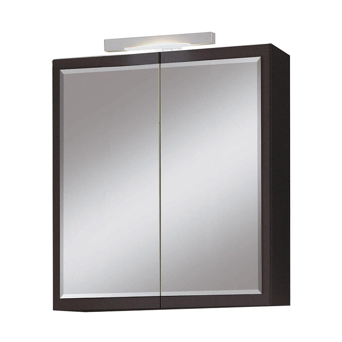 Spiegelschrank helsinki anthrazit for Spiegelschrank anthrazit