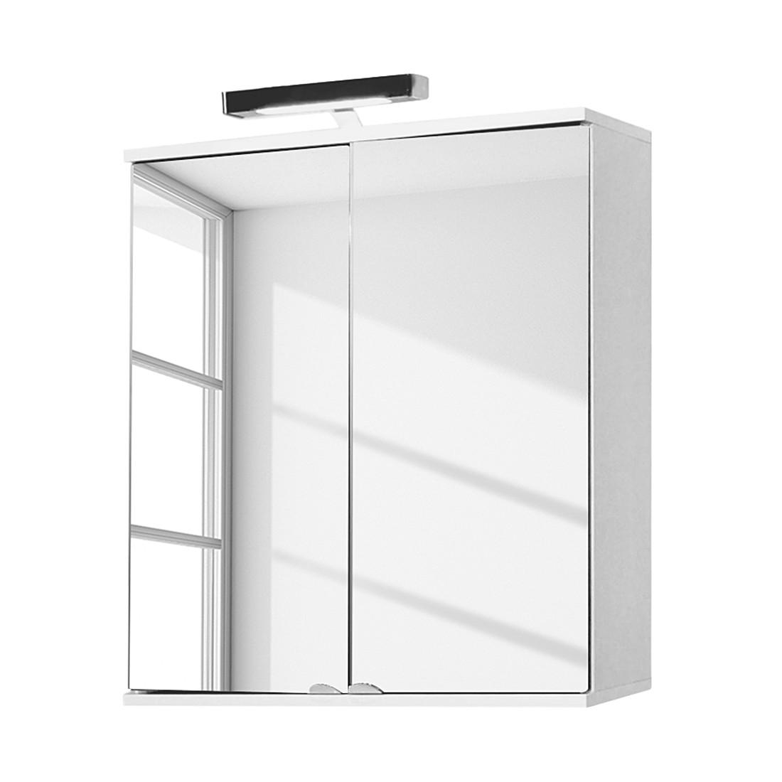 Spiegelschrank Largo – Weiß/Schwarz, Giessbach günstig bestellen