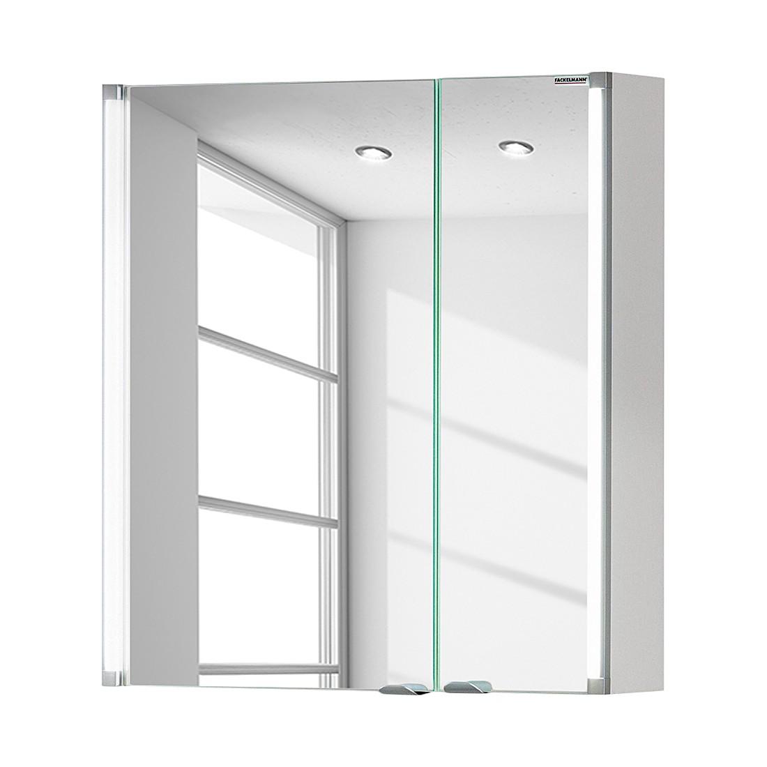 Spiegelschrank LED-Line - Weiß - 60 cm, Fackelmann