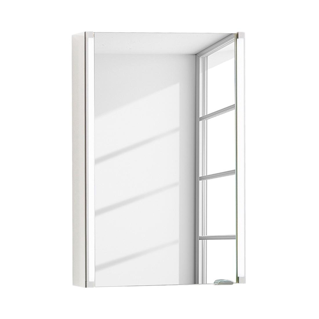 EEK A+, Spiegelschrank LED-Line - Weiß - 40 cm, Fackelmann