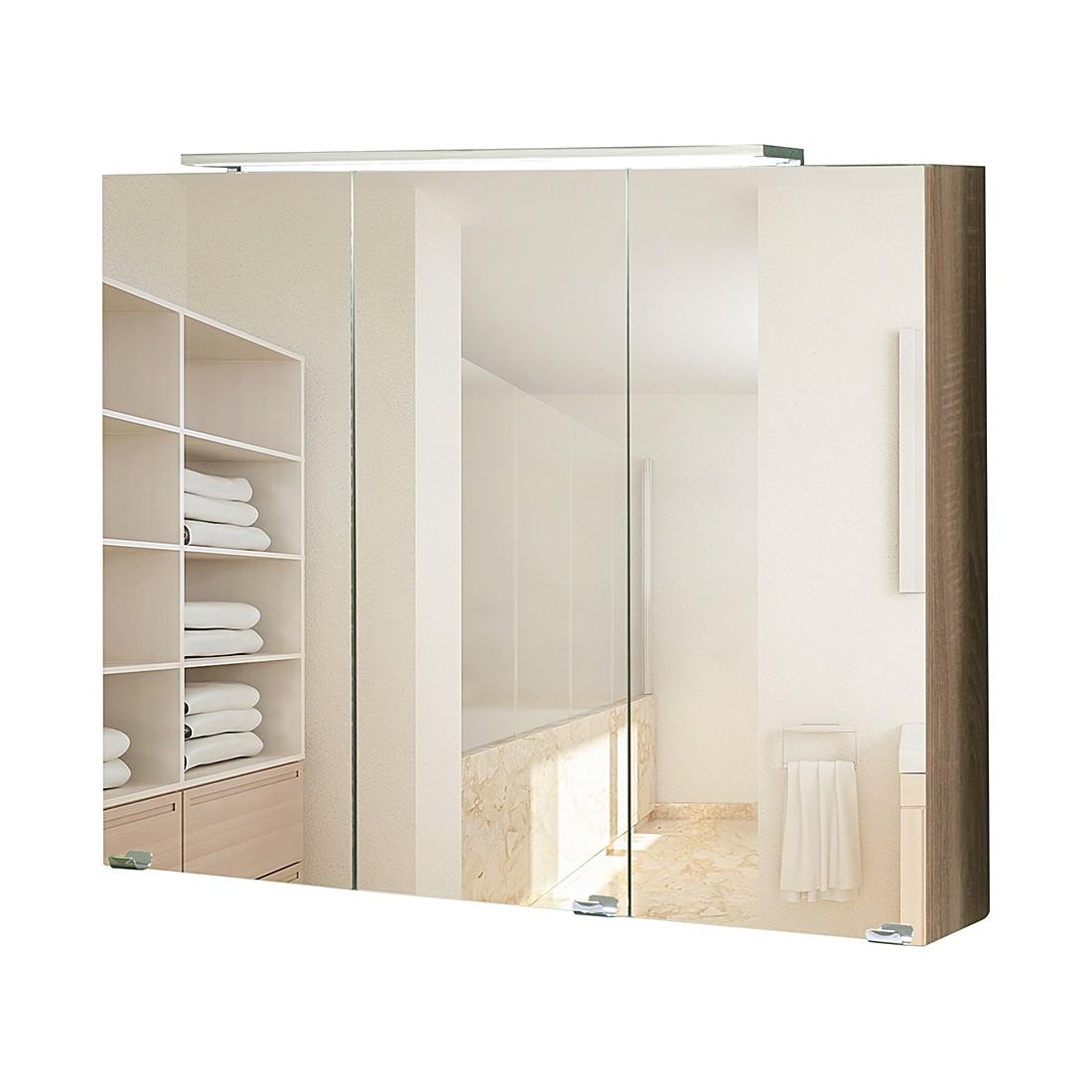 Spiegelschrank 80 cm breit giessbach preisvergleiche for Schuhschrank 140 breit