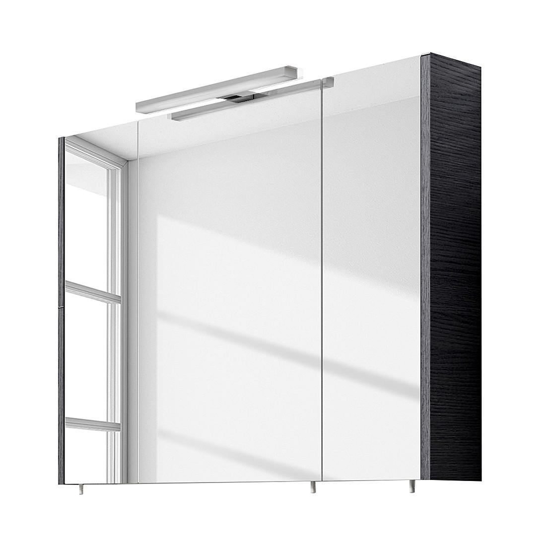 Spiegelschrank Rondino – Pinie-Anthrazit, 80 cm, Aqua Suite online kaufen