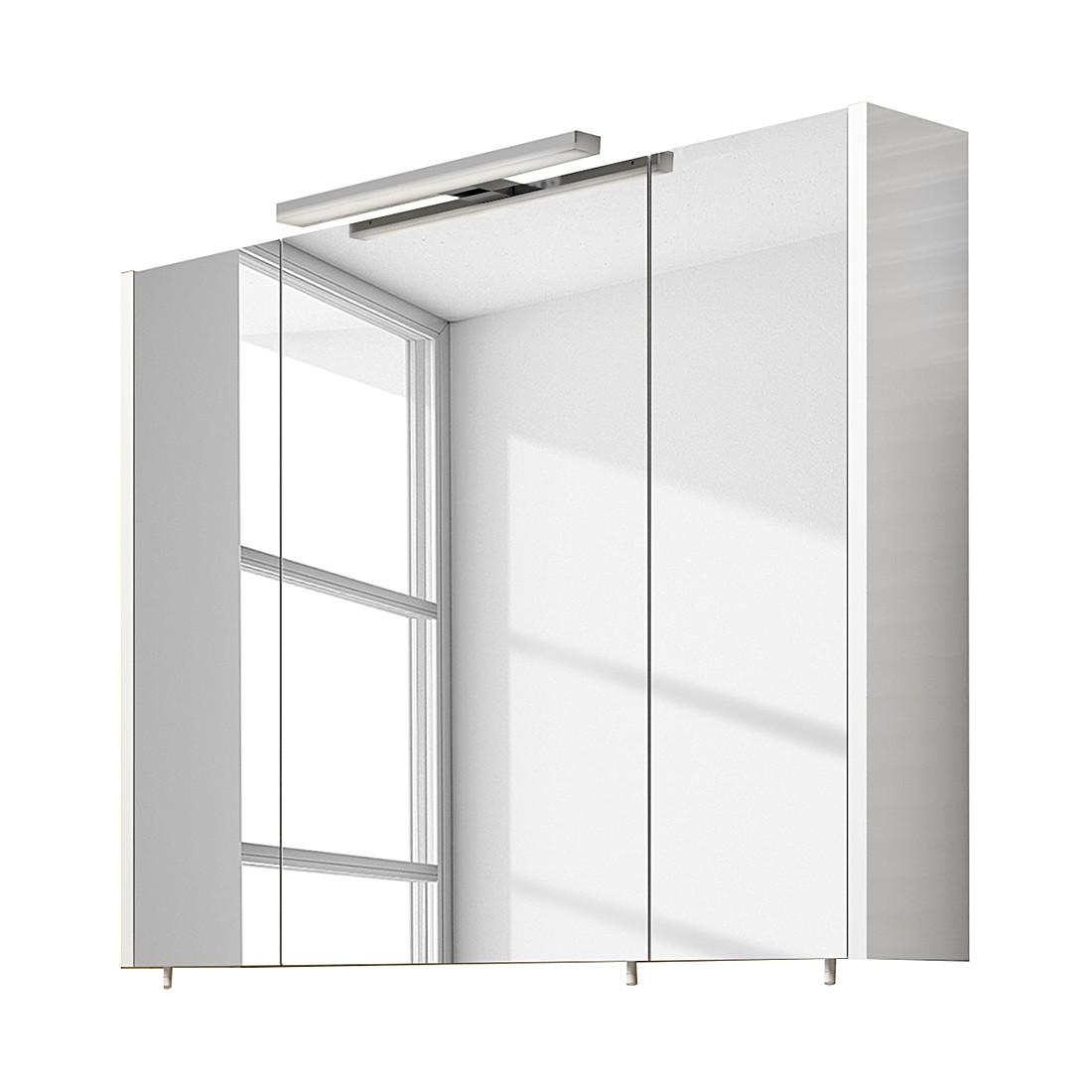 spiegelschrank rondino wei 80 cm aqua suite online kaufen. Black Bedroom Furniture Sets. Home Design Ideas