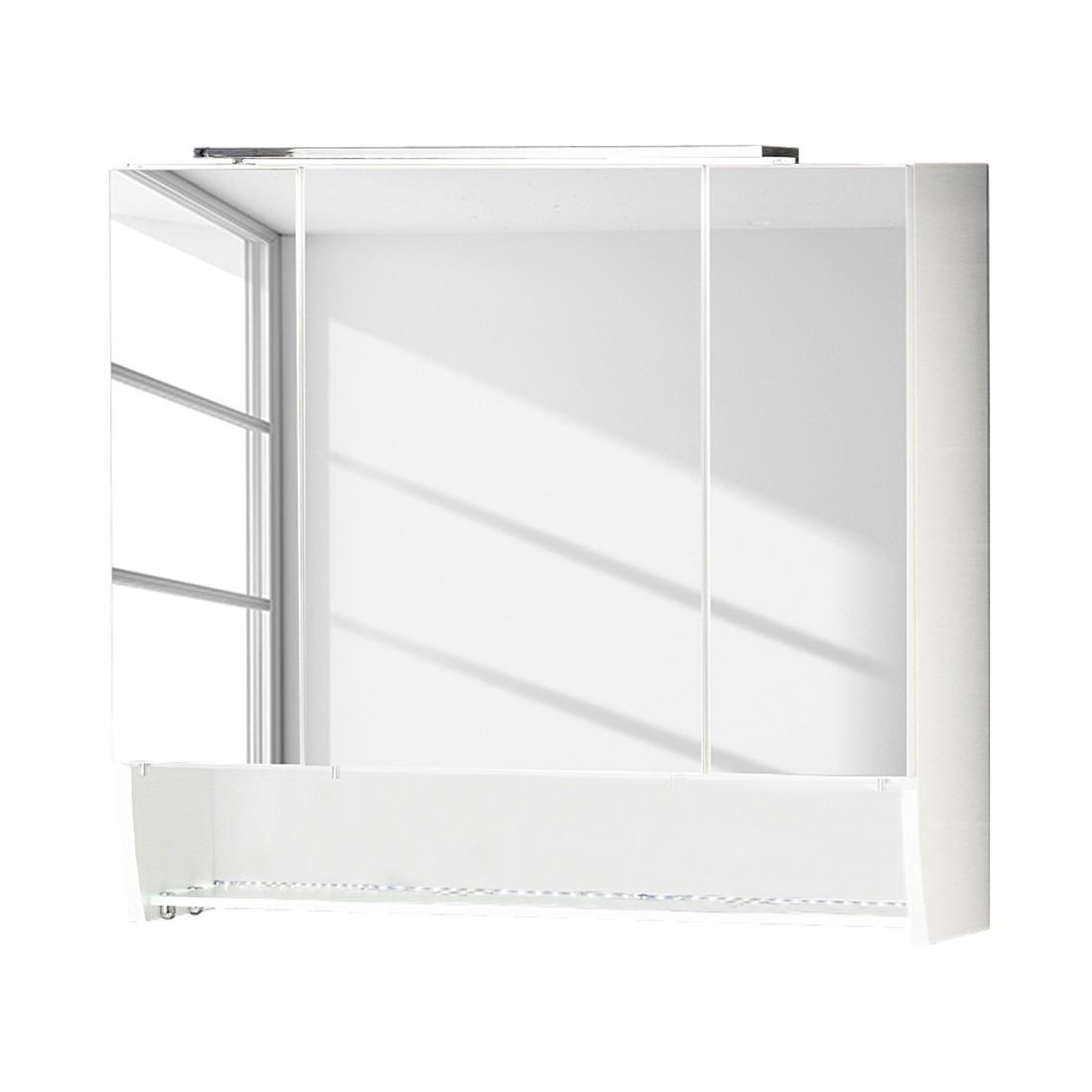 Spiegelschrank Sceno - Hochglanz Weiß, Fackelmann