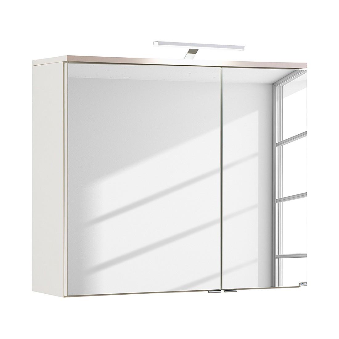 preisvergleich eu spiegelschrank 80 cm wei. Black Bedroom Furniture Sets. Home Design Ideas
