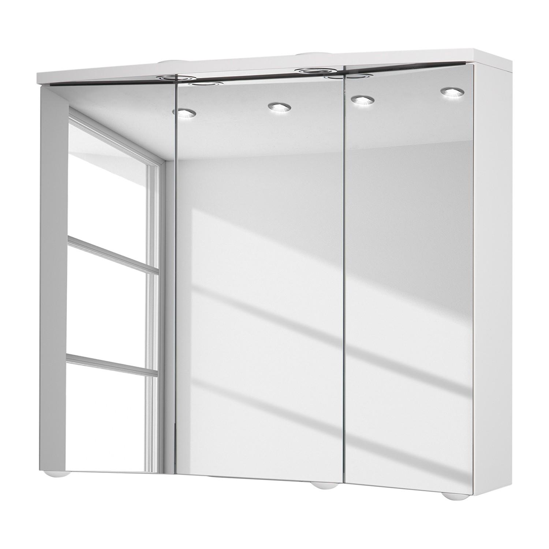 EEK A+, Spiegelschrank Trava (inkl. LED-Beleuchtung) - Weiß, Jokey