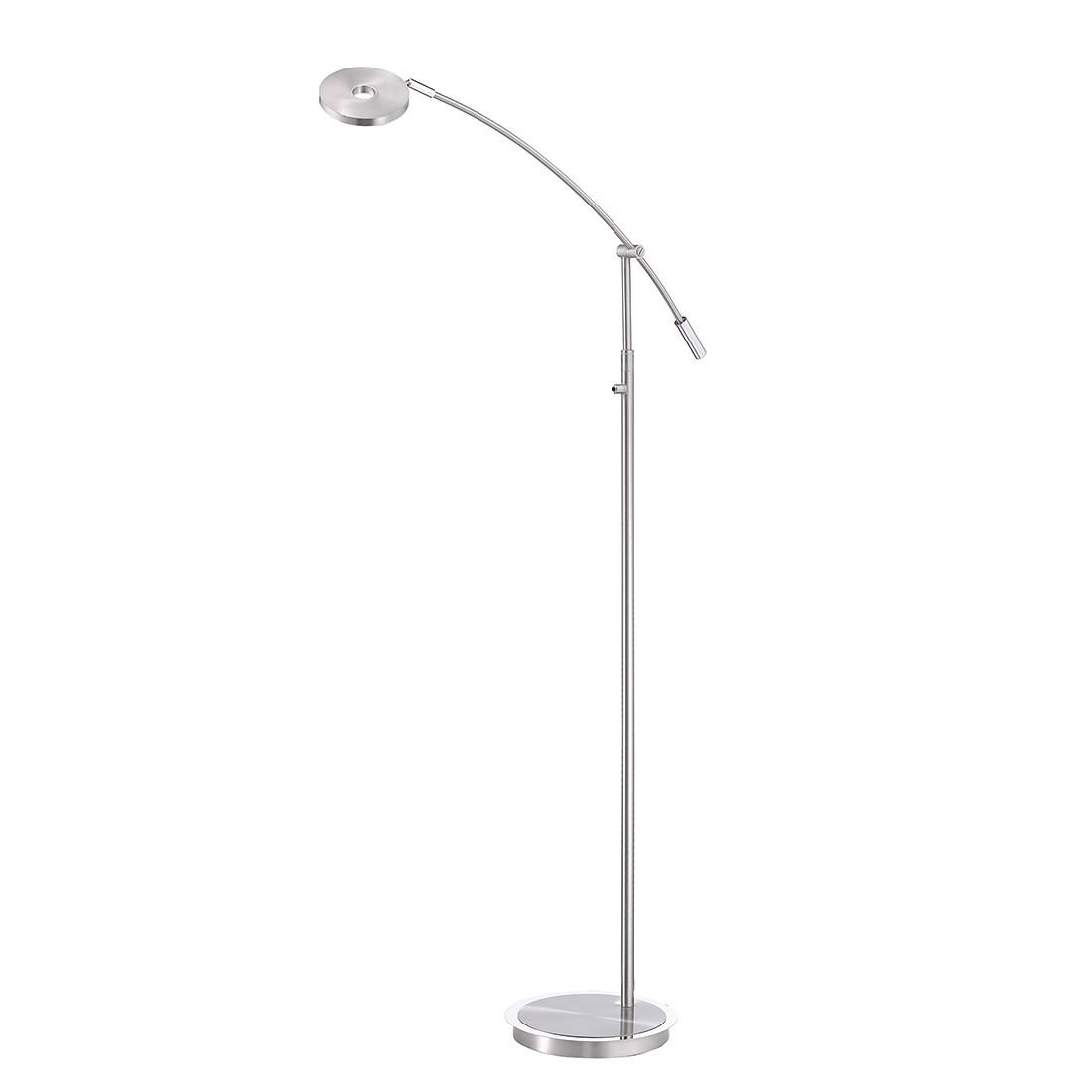 LED-Standleuchte Darß ● Nickel Matt ● Silber- FLI Leuchten A+