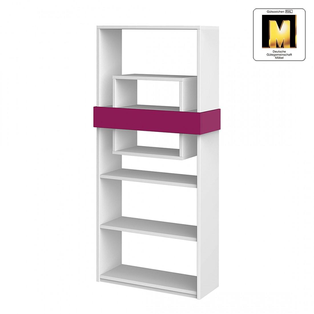 Standregal HiLight – Weiß / Pink, röhr kaufen