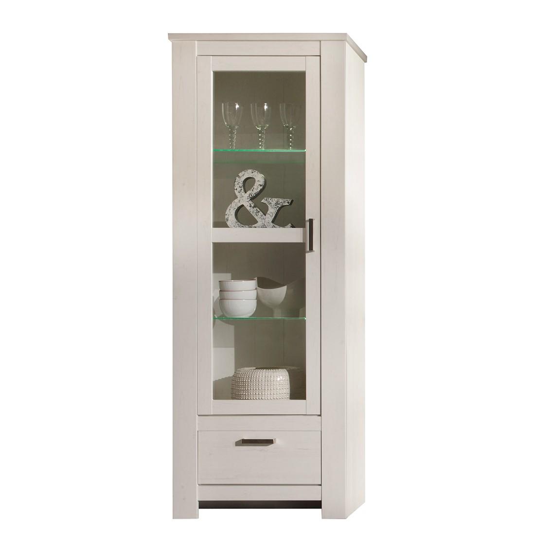 standvitrine rostock ii pinie wei dekor kerkhoff online kaufen. Black Bedroom Furniture Sets. Home Design Ideas