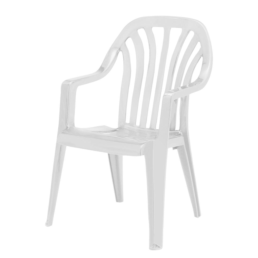 Stapelstuhl Laredo - Kunststoff - Weiß, Best Freizeitmöbel