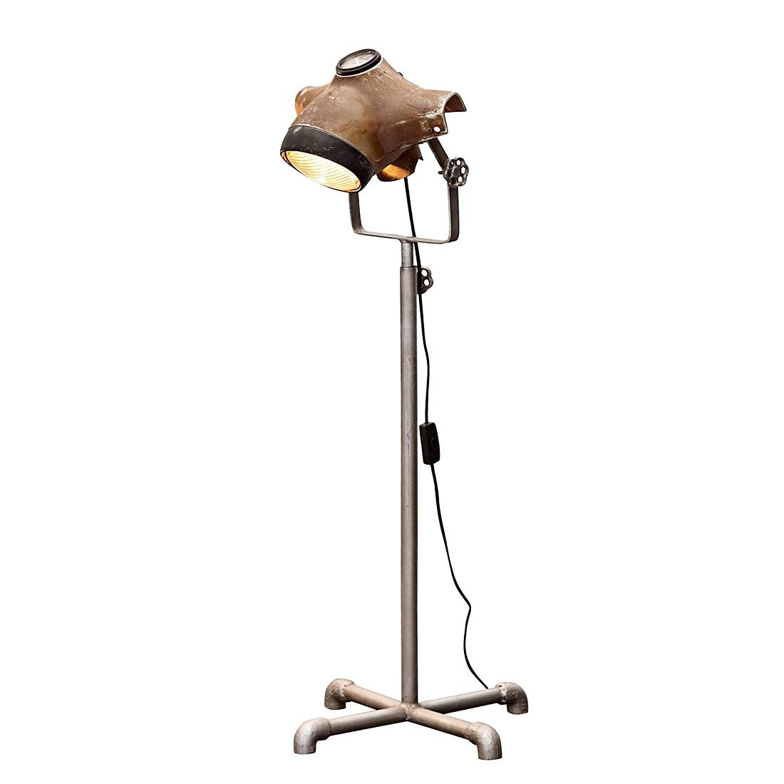 Stehlampe Broome – Receyceltes Eisen – Taupe, Loberon online bestellen
