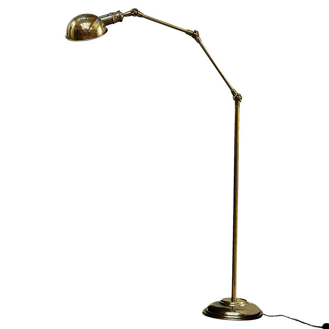 Stehlampe Tulsa ● Messing ● Messing- Loberon