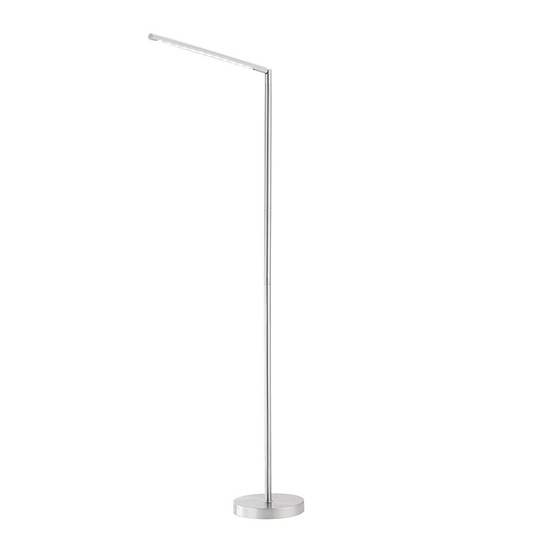 LED-Stehleuchte Dawda by Leuchten Direkt ● Eisen/Stahl ● Silber- Leuchten Direkt A+