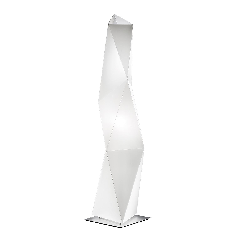 Stehleuchte Diamond 1-flammig ● Weiß Opalflex- Slamp A++