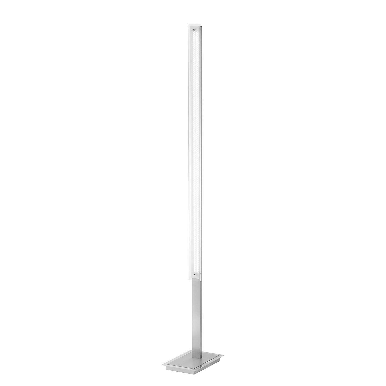 LED-Stehleuchte Foil ● Eisen ● Silber- Paul Neuhaus A+