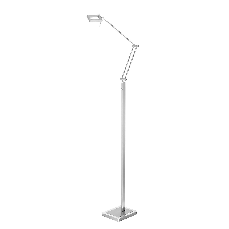 LED-Stehleuchte Inigo ● Eisen ● Silber- Paul Neuhaus A+