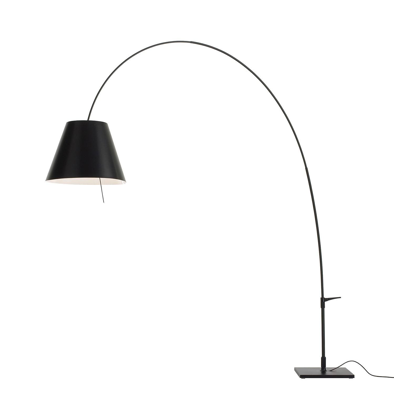 stehleuchte lady costanza aluminium schwarz luceplan bestellen. Black Bedroom Furniture Sets. Home Design Ideas