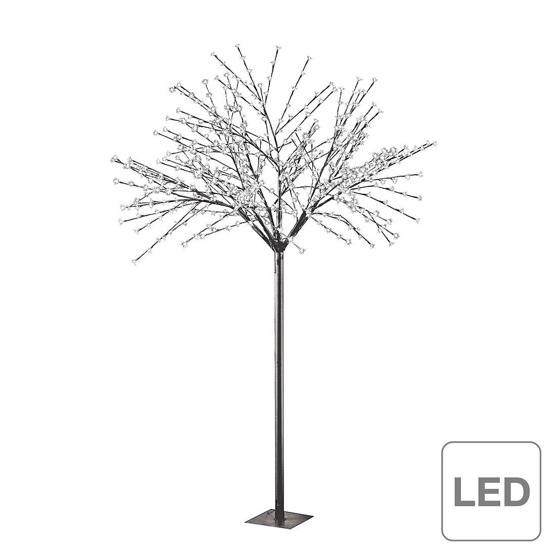 LED-Stehleuchte Led Tree ● Metall ● Schwarz- Lux A+