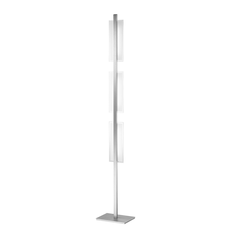 LED-Stehleuchte Ludo ● Aluminium ● Silber- Paul Neuhaus A+