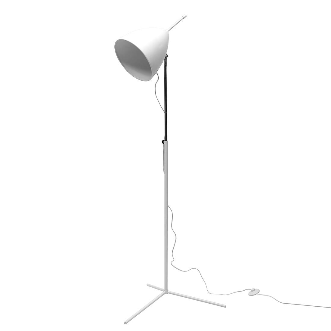 Stehleuchte Robot ● Stahl ● Weiß- Lux A++