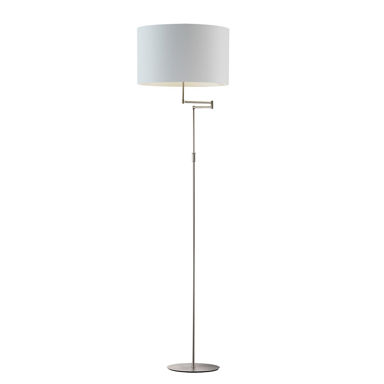 stehleuchte shine loft nickel stoff 1 flammig fischer leuchten a g nstig online kaufen. Black Bedroom Furniture Sets. Home Design Ideas