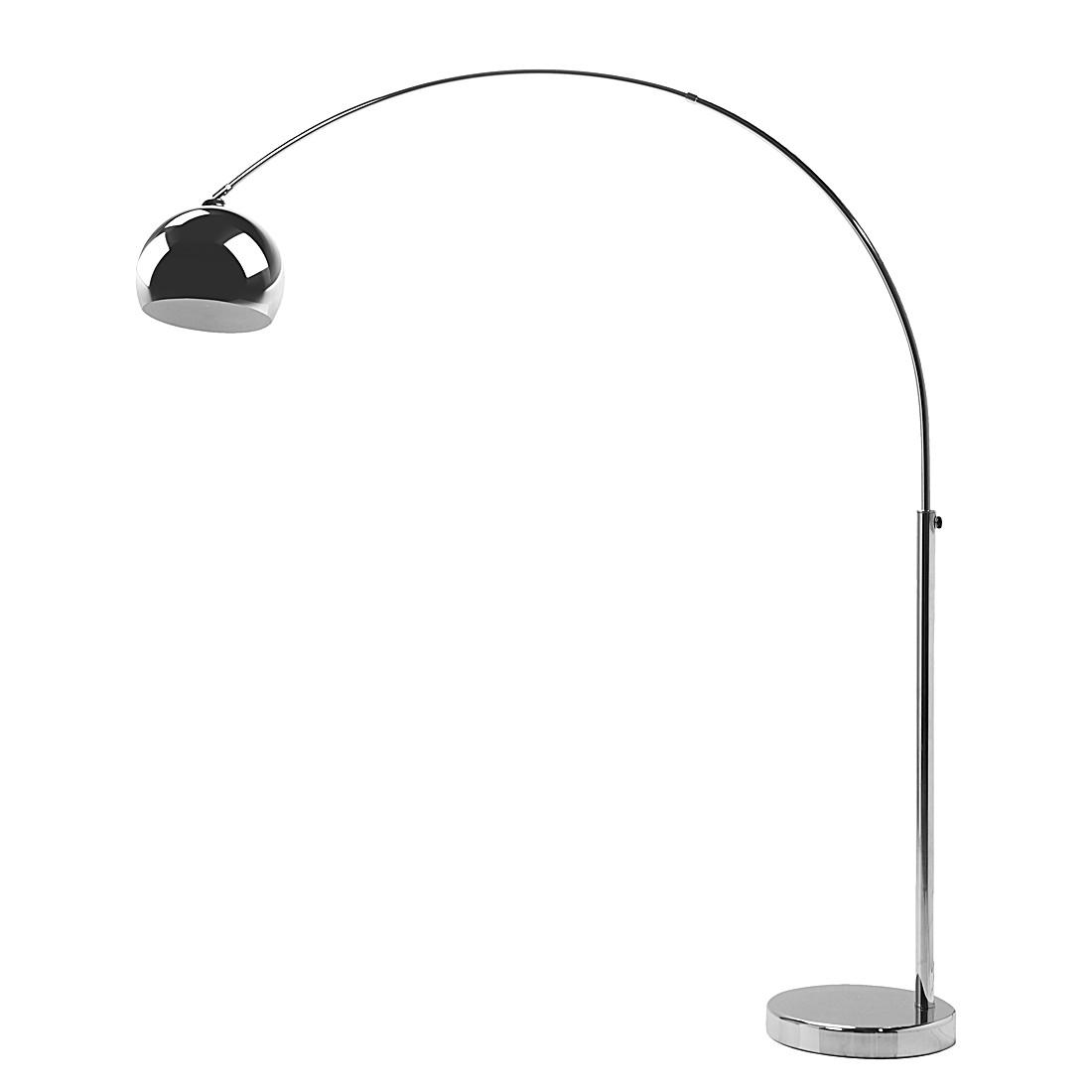 EEK A++, Stehleuchte SL Lounge Chrome Small Deal Eco – Metall/Kunststoff – 1-flammig, Kare Design online bestellen