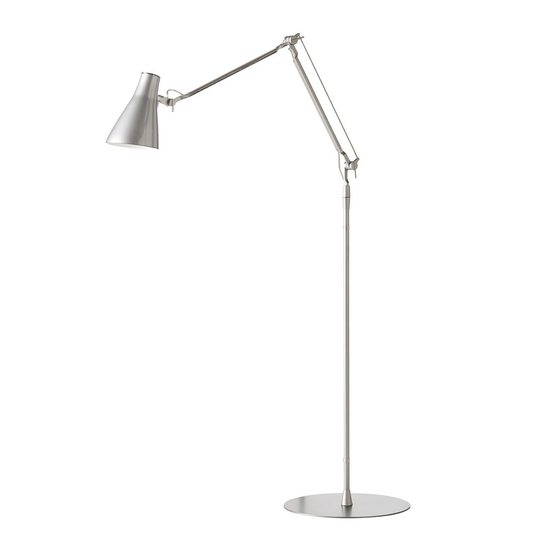 Stehleuchte Solus 2 ● Metall/Kunststoff ● Grau ● 1-flammig- Blanke Design A