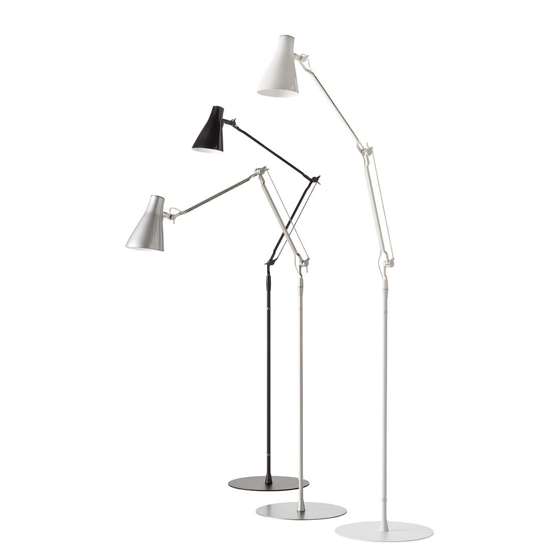 Stehleuchte Solus 2 ● Metall/Kunststoff ● Weiß ● 1-flammig- Blanke Design A
