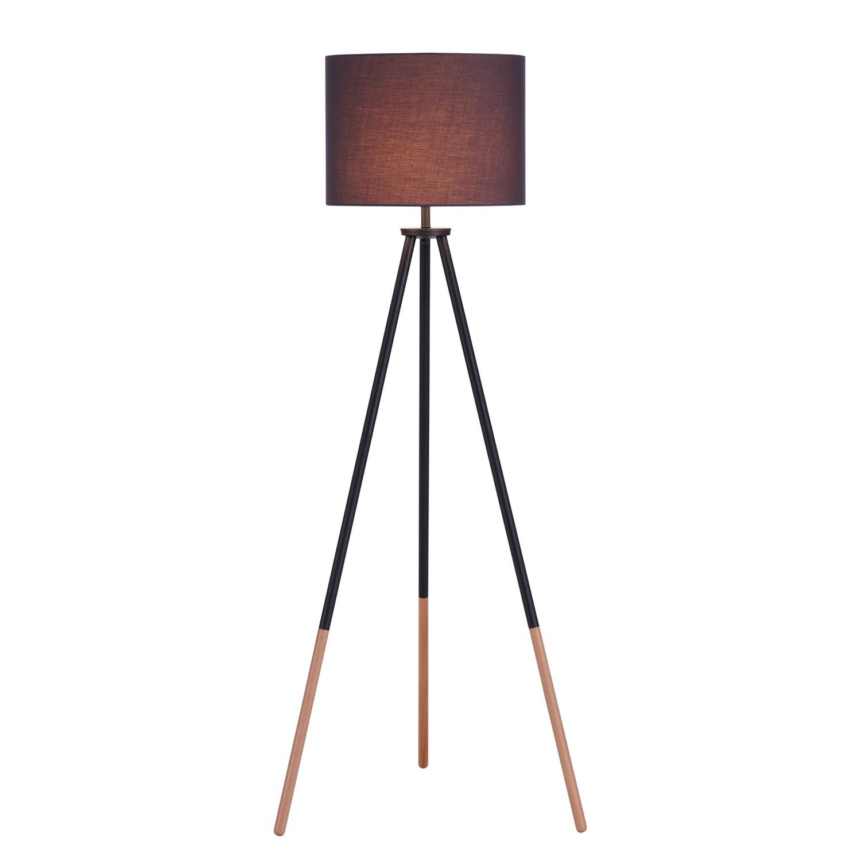 stehleuchte tripod valma webstoff stehlampe steh lampe. Black Bedroom Furniture Sets. Home Design Ideas