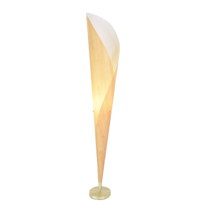 Stehleuchte Veneer ● Metall/Kunststoff ● Gold ● 1-flammig- Näve A++
