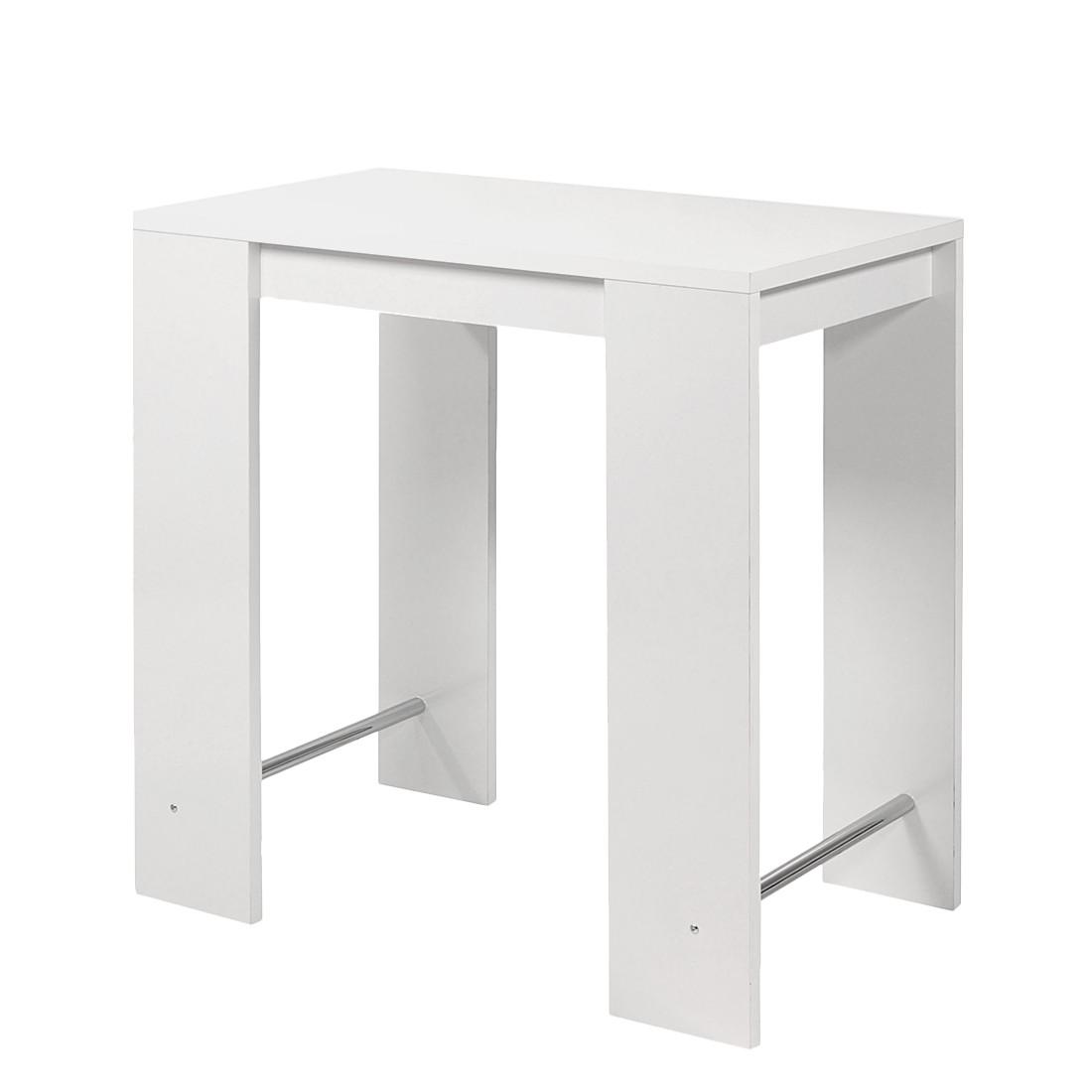 Stehtisch Jersey – Hochglanz Weiß, Home Design online bestellen