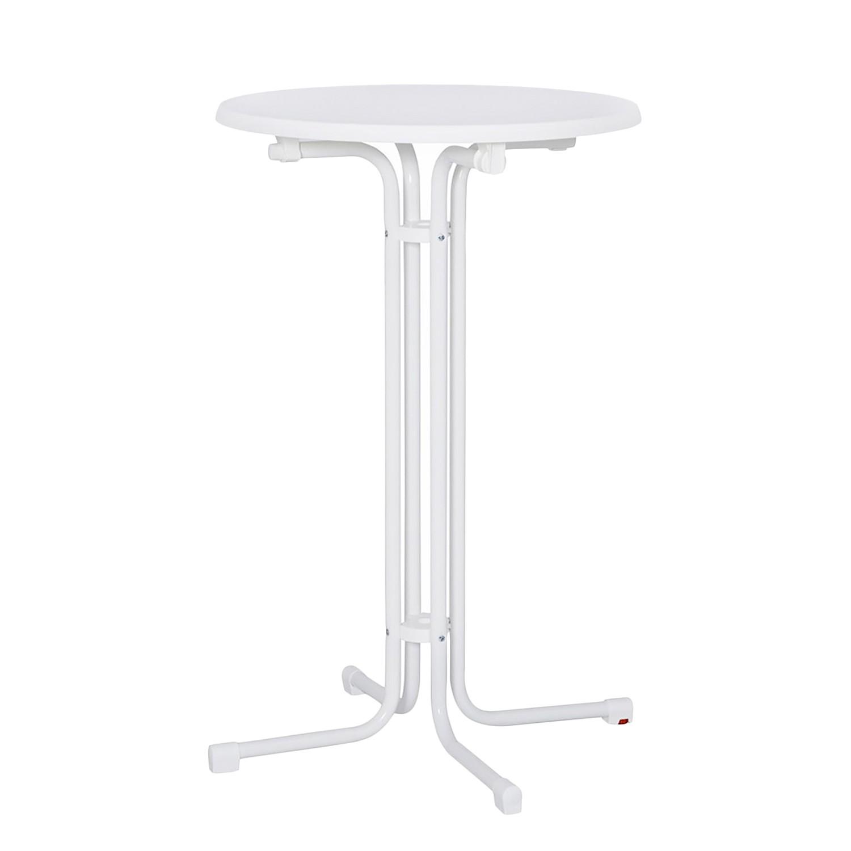 Stehtisch Stand up - Stahl - Weiß, Mfg