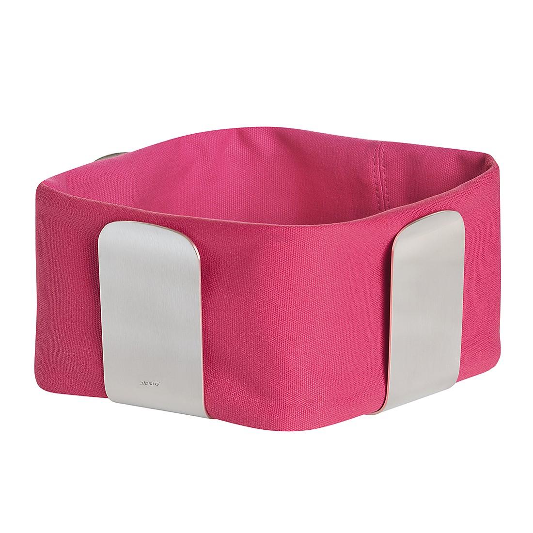 Stofftasche für Brotkorb Desa – Pink, klein, Blomus günstig online kaufen