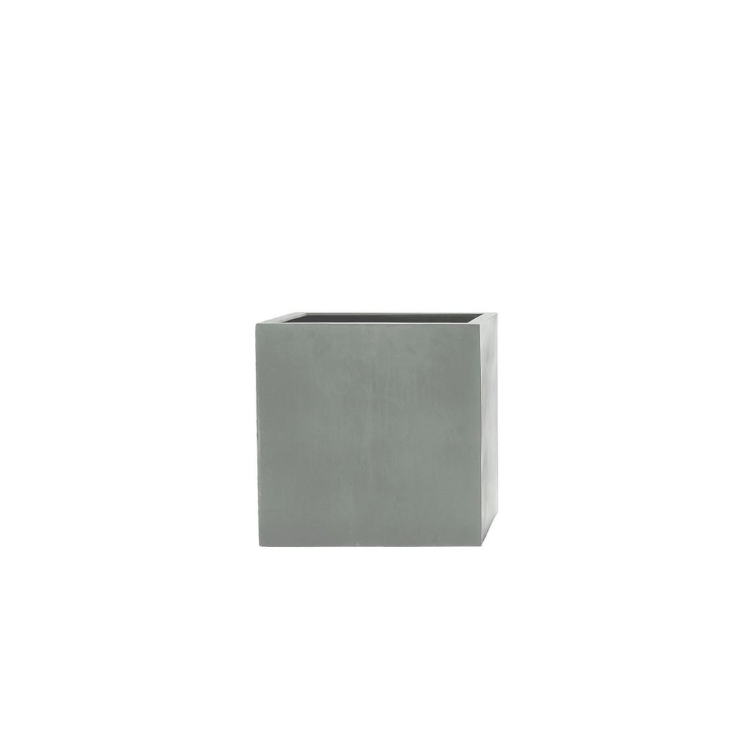 Stonefiber Pot lang hoch – Polyesterharzkunststoff Grau – 60x30x60, amei günstig kaufen
