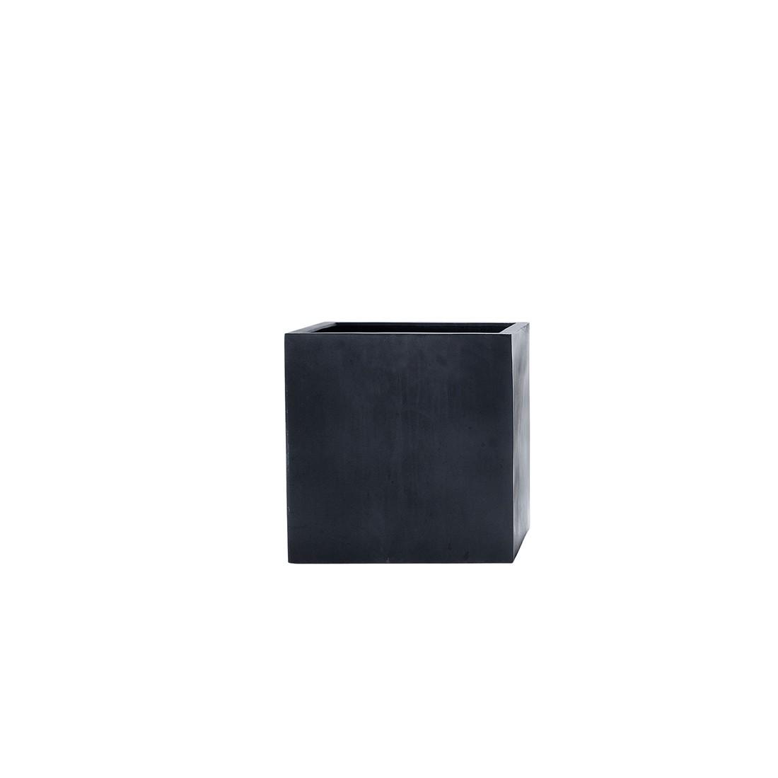 Stonefiber Pot lang hoch – Polyesterharzkunststoff Schwarz – 60x30x60, amei jetzt bestellen