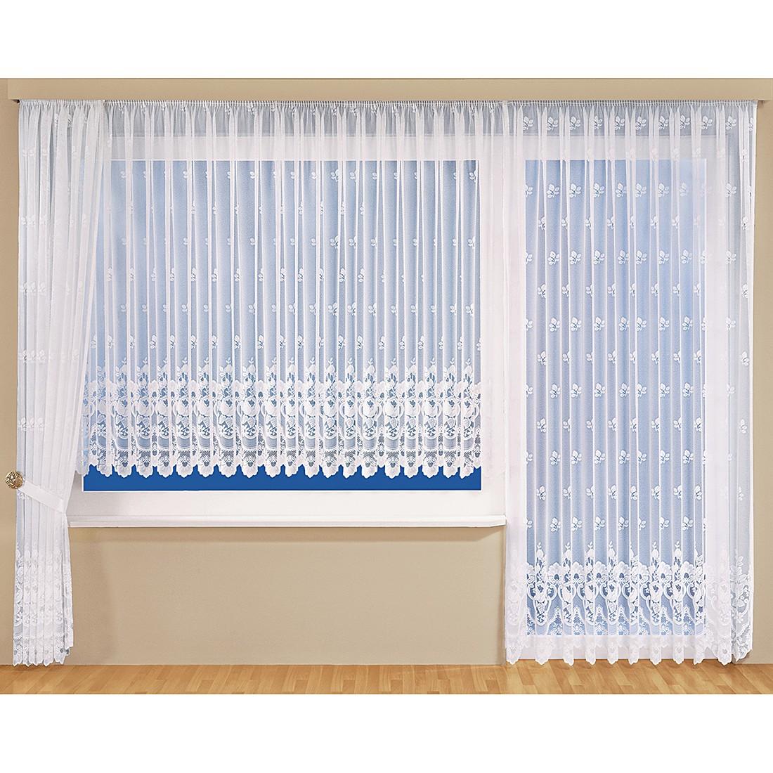 Store Manja – Weiß – 600 x 118 cm, Home24Deko günstig online kaufen