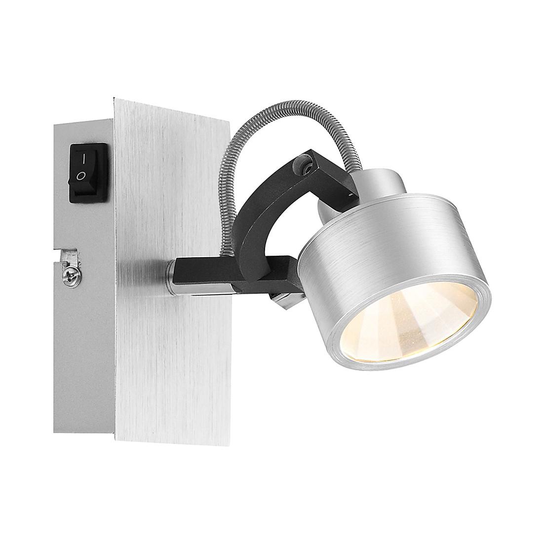 Strahler HALEY I – Aluminium/Kunststoff – Silber – 1-flammig, Globo Lighting günstig bestellen