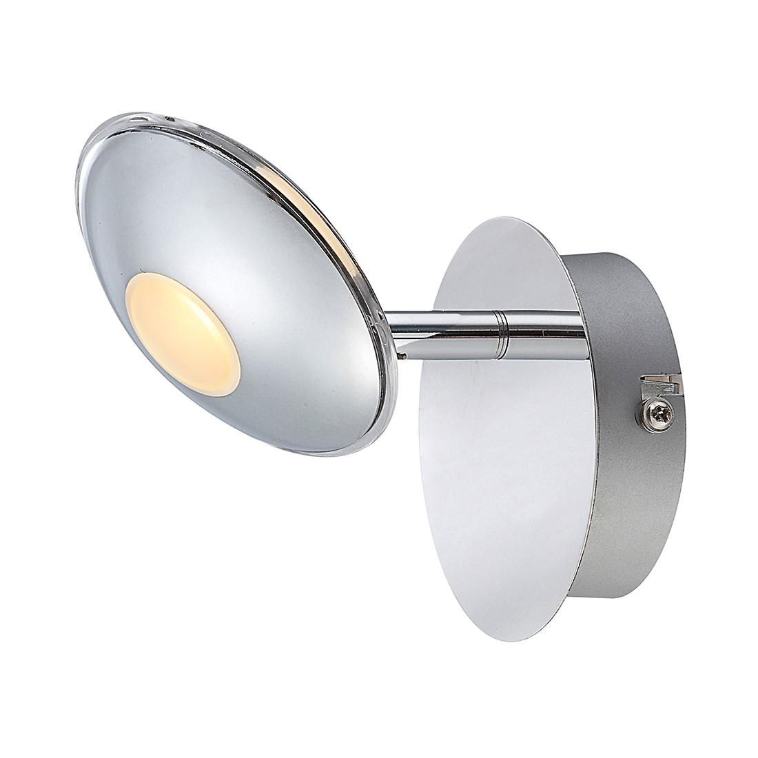 Strahler Petrol ● Metall ● Silber ● 1-flammig- Lux