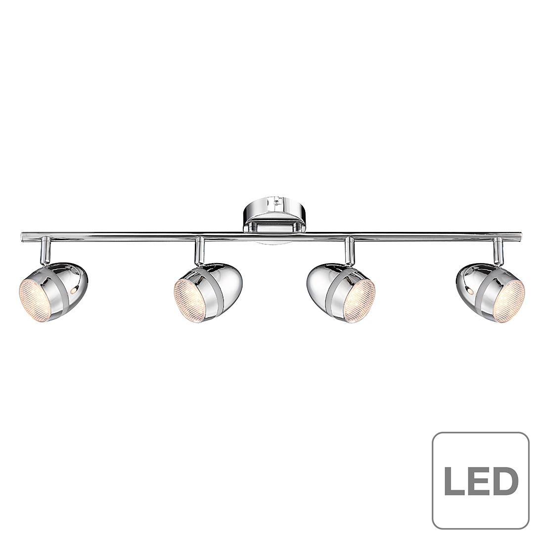 Wohnzimmerbeleuchtung decke wand led halogen lampen for Lampen strahler decke