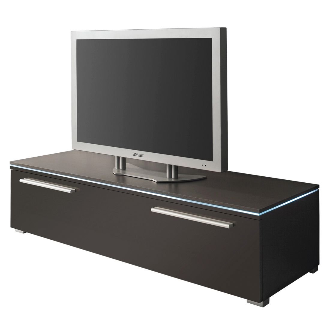 tv lowboard stripe hochglanz grau 120 cm california. Black Bedroom Furniture Sets. Home Design Ideas