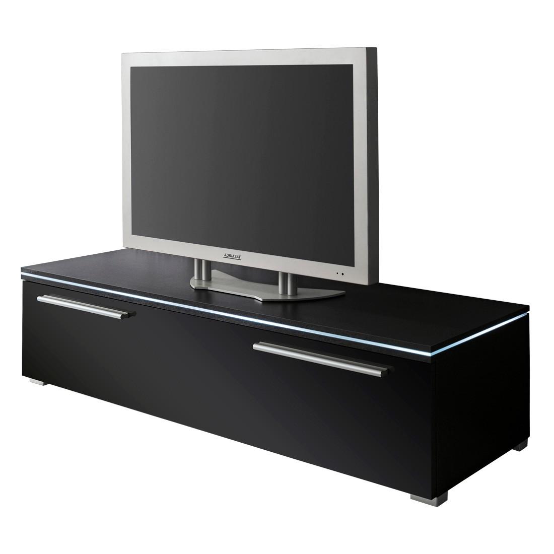 lowboard hochglanz schwarz preisvergleiche. Black Bedroom Furniture Sets. Home Design Ideas