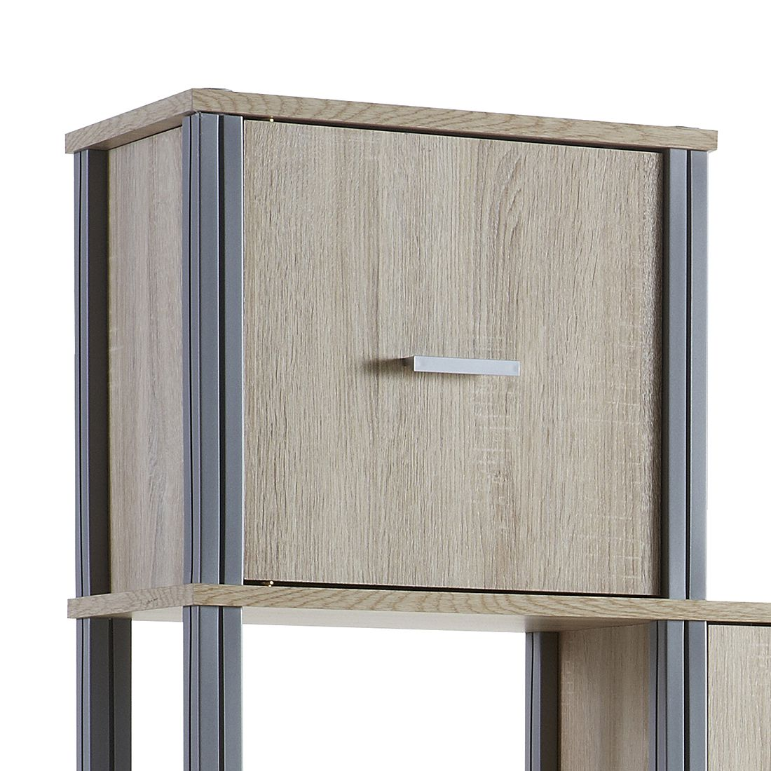 stufenregal berck eiche sonoma dekor b cherregal standregal wandregal ebay. Black Bedroom Furniture Sets. Home Design Ideas