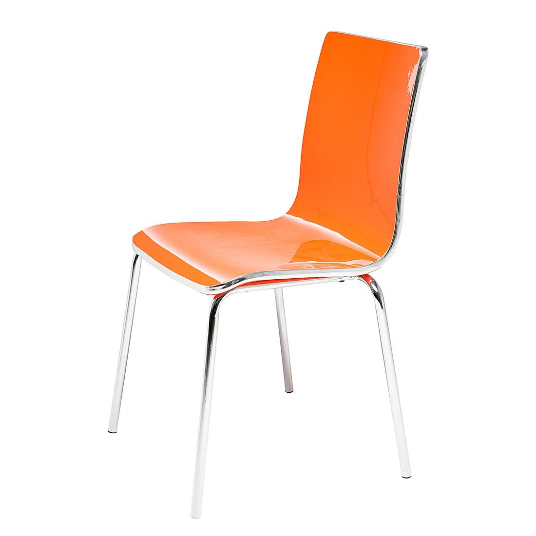Kare stuhl preisvergleich for Design stuhl orange
