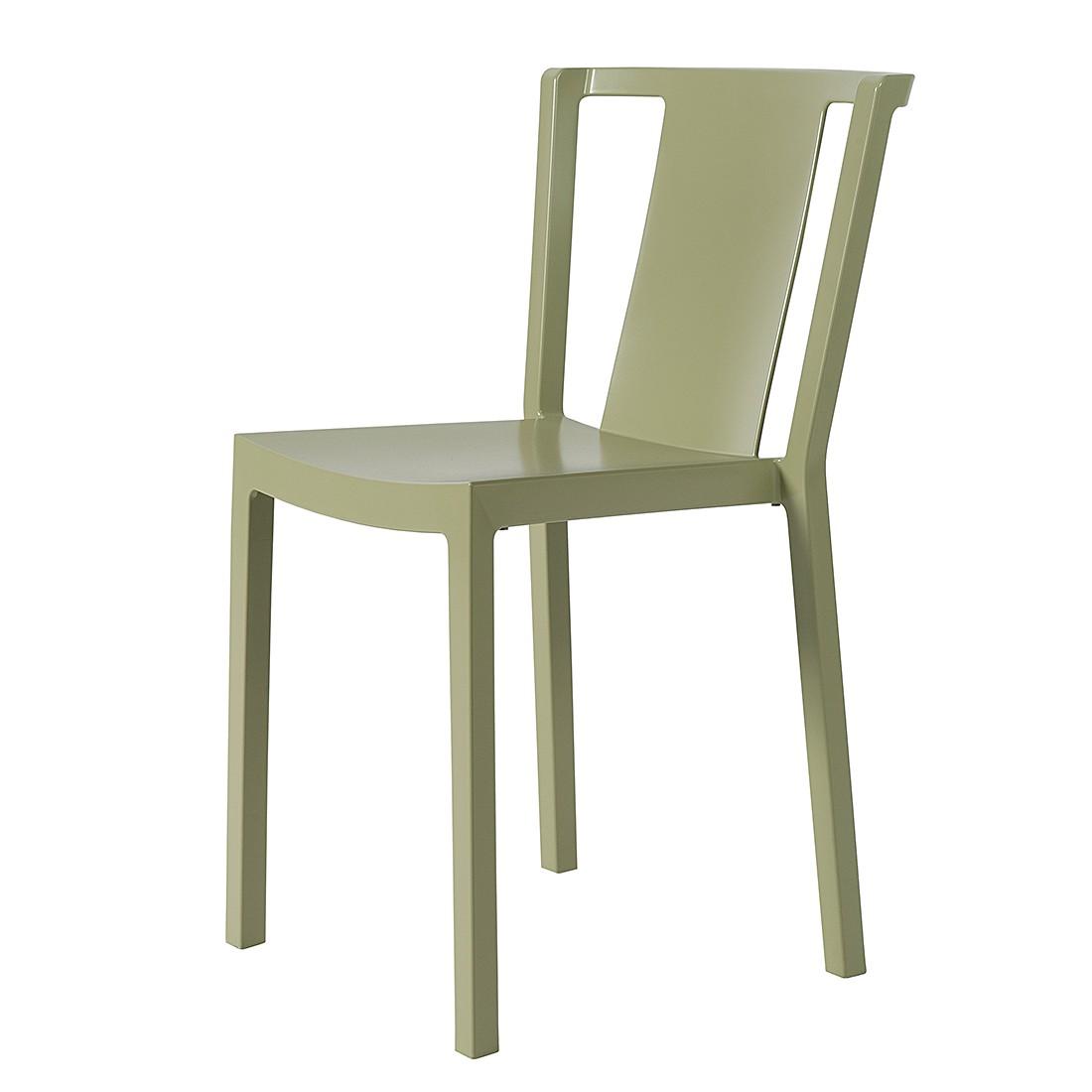 Stuhl Neutra (2er-Set) - Olivgrün, Viggo