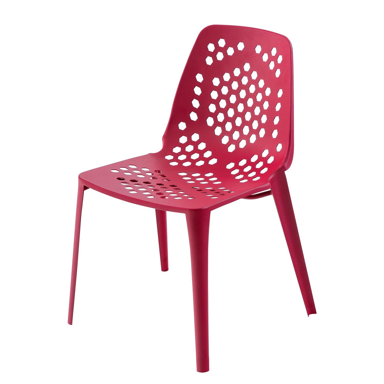 stuhl pattern stahlblech rot emu g nstig. Black Bedroom Furniture Sets. Home Design Ideas