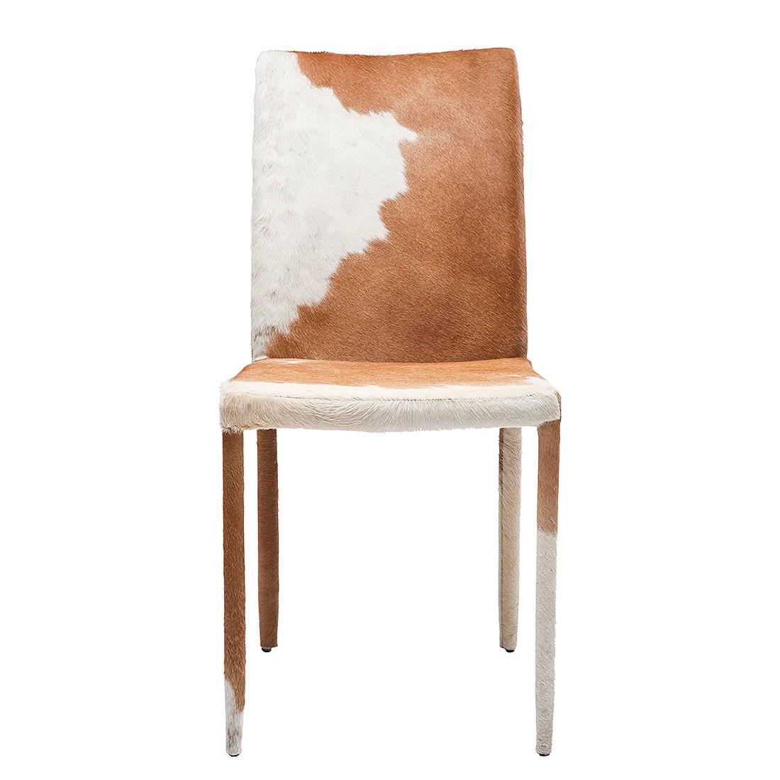 stuhl vacco braunes fell kare design m kd 100038. Black Bedroom Furniture Sets. Home Design Ideas