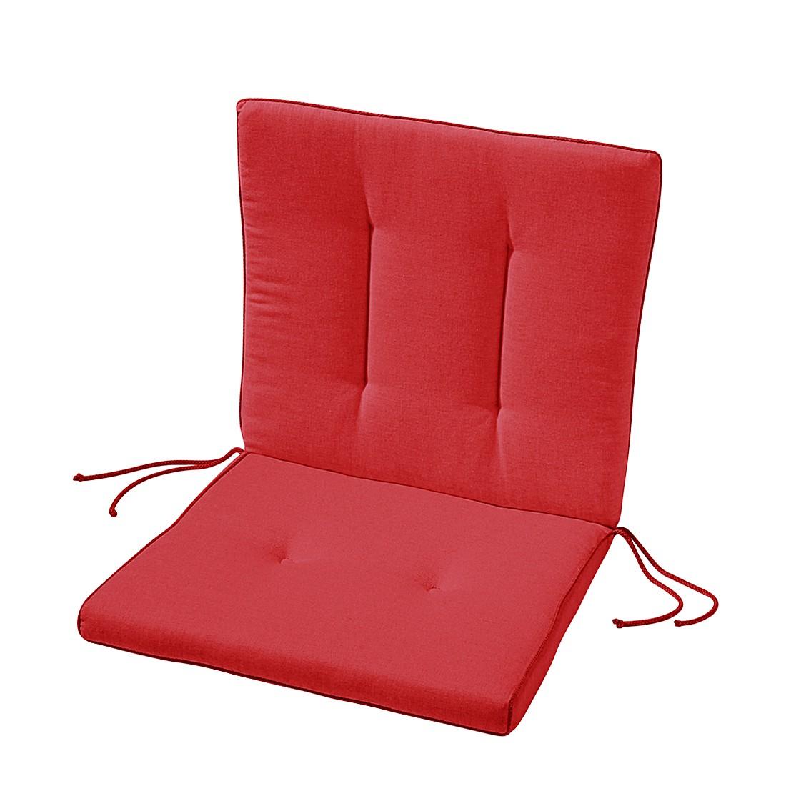 Stuhlauflage Antigua - Rot, Best Freizeitmöbel