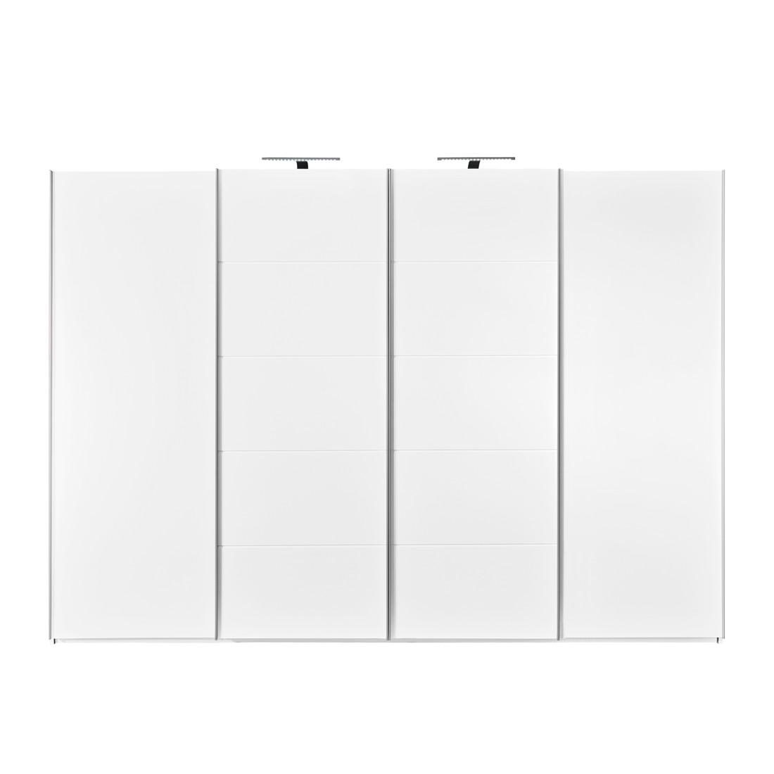 schwebet renschrank synkro wei wei breite 302 cm. Black Bedroom Furniture Sets. Home Design Ideas